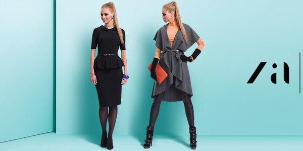 Zaps - prirodzená ženskosť v elegantnom šate