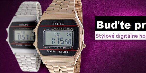 Buďte presná - štýlové dámske digitálne hodinky