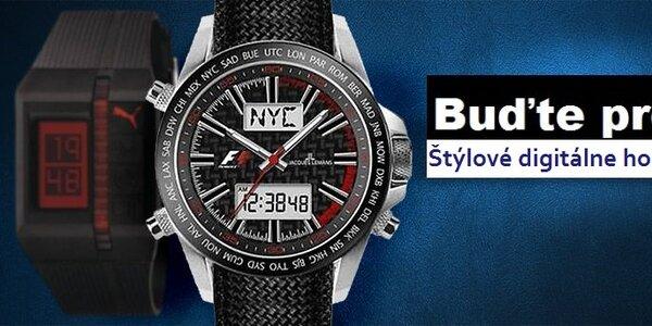 Buďte presní - štýlové pánske digitálne hodinky