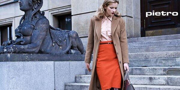 Nadčasová sofistikovaná móda Pietro Filipi