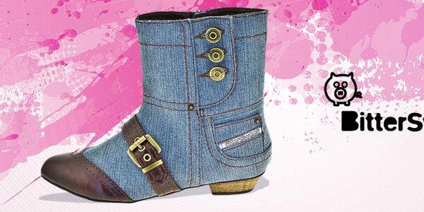 Dámska obuv Bitter Sweet - originálna a ženská