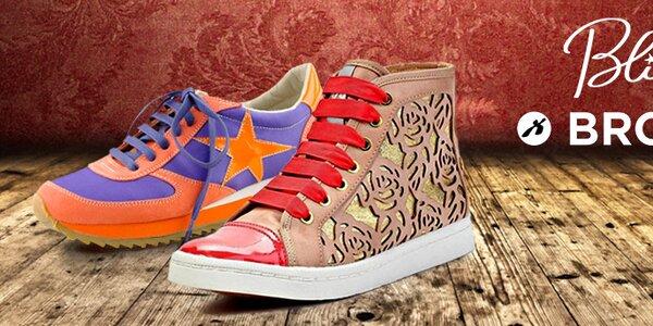 Odvážne aj štýlové dámske topánky Blink & Bronx