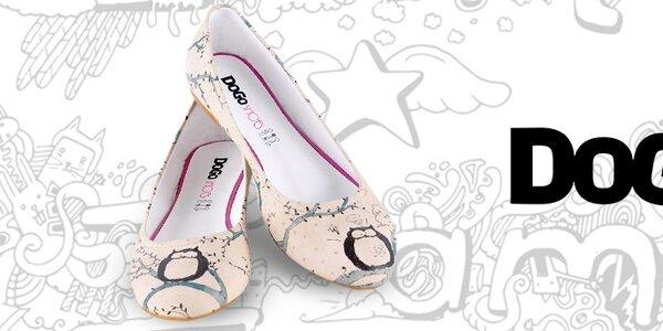 Veselé, hravé a nevšedné dámske topánky Dogo
