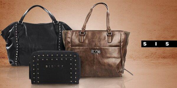 Štýlové dámske kabelky a peňaženky Sisley