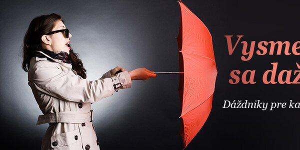 Dáždniky pre každého skladom už od 11,99€
