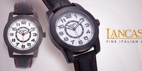 Luxusné pánske náramkové hodinky Lancaster