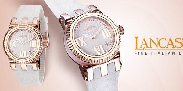 Luxusné dámske náramkové hodinky Lancaster
