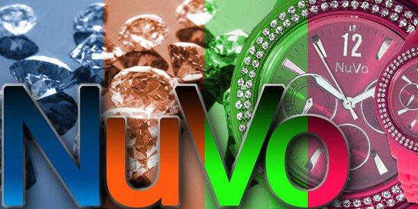 Aktuálny čas vo farebnom kabáte - veselé hodinky NuVo
