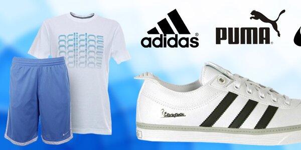 Pánska športová obuv aj oblečenie Nike, Adidas, Puma