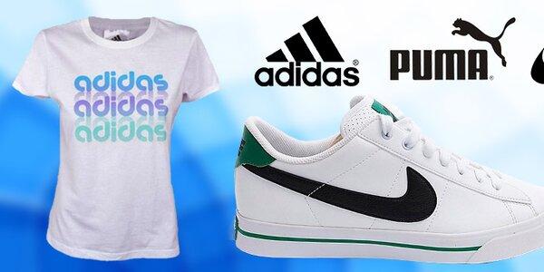 Dámska športová obuv aj oblečenie Nike, Adidas, Puma