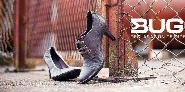 Kvalitné dámske topánky z pravej kože Buggy