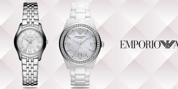 Luxusné hodinky pre dámy - Emporio Armani