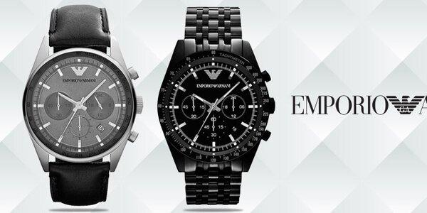 Luxusné hodinky pre pánov - Emporio Armani