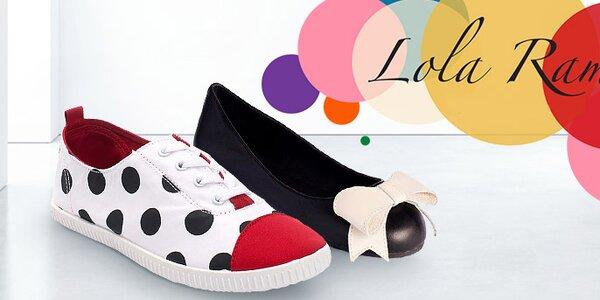 Extravagantná dámska obuv Lola Ramona