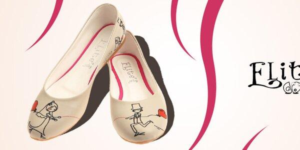 Obľúbená dámska obuv s potlačami Elite Goby