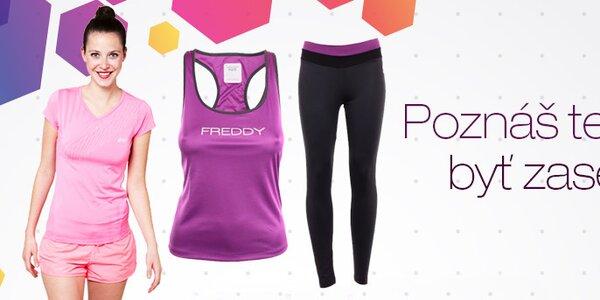 Dámske oblečenie pre fitness a šport