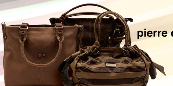 Originálne dámske kabelky Pierre Cardin