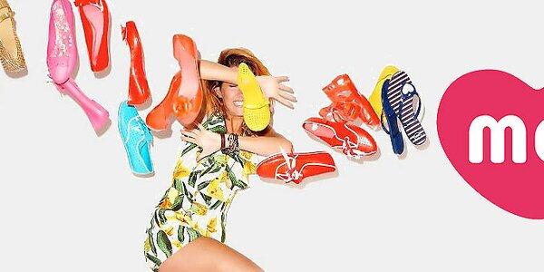 Mel - farebné a voňavé dámske letné topánočky