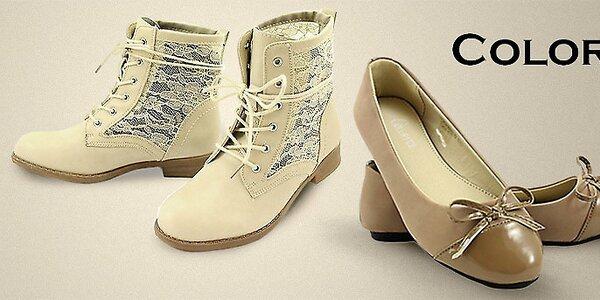 Dámska obuv Colorful - nielen jarné kúsky