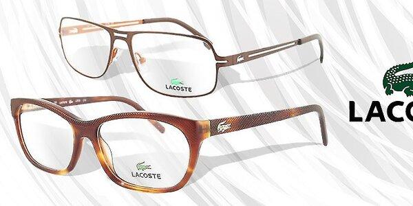 Lacoste - luxusné okuliare pre dámy aj pre pánov