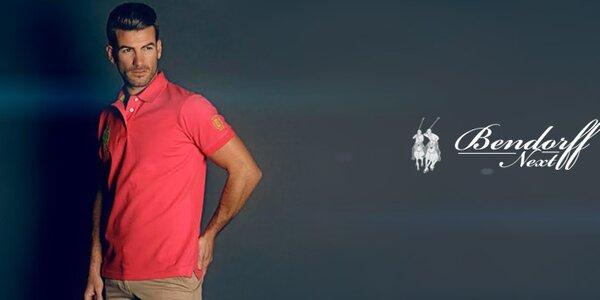 Pánske polo tričká a voľnočasové košele Bendorff Next