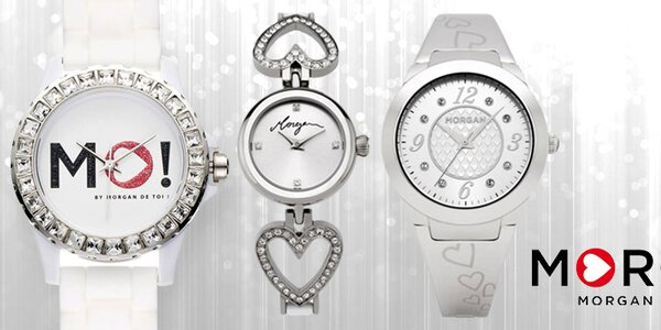 Štýlové hodinky pre dámy Morgan de Toi