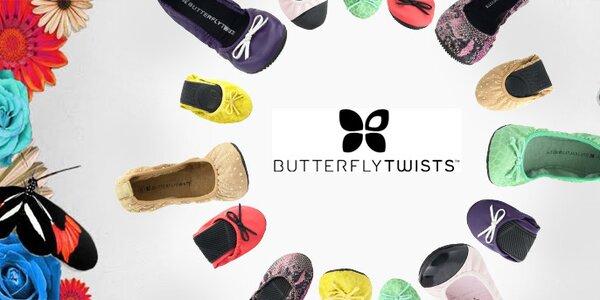 Butterfly Twists - módne londýnske balerínky z minulých kolekcií