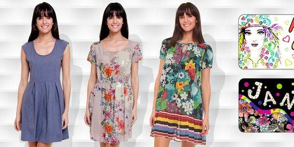 Pohodová farebná dámska móda Kool a Janis