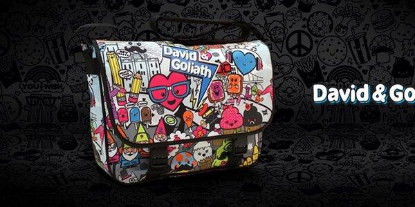 David & Goliath - tašky, ruksaky a doplnky s vtipnými potlačami