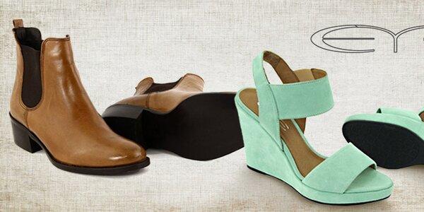 Obľúbené dámske topánky Eye - lodičky, balerínky aj sandálky
