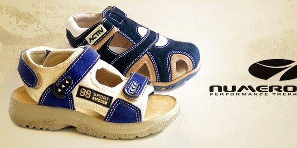 Pohodlné detské topánočky Numero Uno