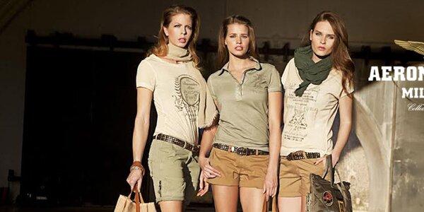 Originálne dámske oblečenie Aeronautica Militare