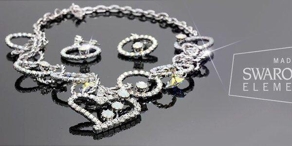 Obľúbené dámske šperky značky Swarovski
