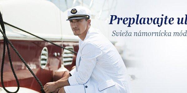 Námornícka svieža móda pre pánov