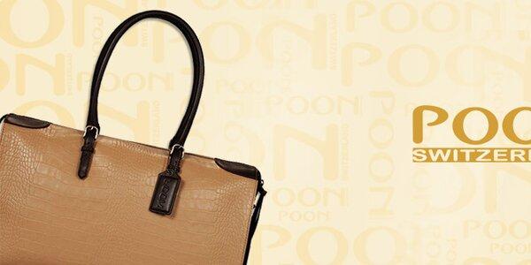 Luxusné švajčiarske dámske kabelky POON Bags