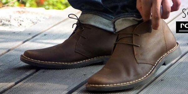 Pánske topánky Solier, Roamers, Route21 a DEK