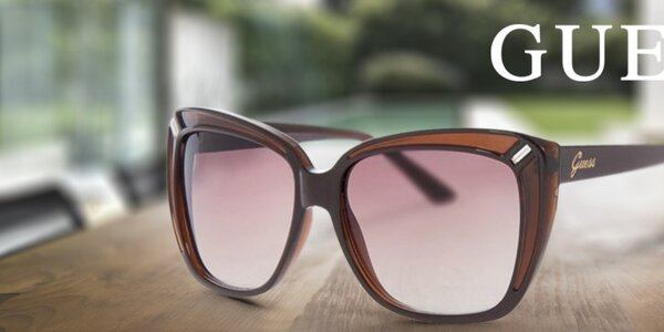 Pripravte sa na slniečko - dámske slnečné okuliare Guess