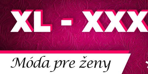 XL-XXXL móda pre ženy - skladom