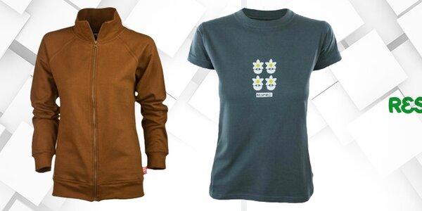 Voľnočasové dámske tričká a mikiny s potlačou Respiro