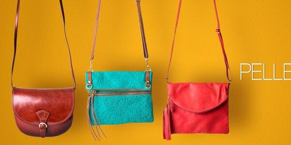 Pelleteria - kvalitné kožené kabelky a tašky z Talianska