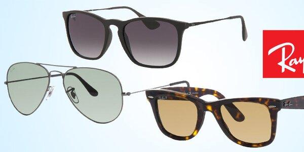 Ikonické slnečné okuliare Ray-Ban