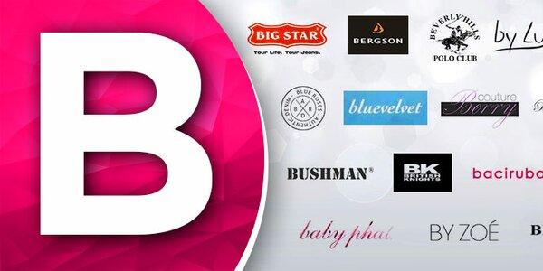B - Baby Phat, Bella Rosa, By Zoe, Big Star.... skladom