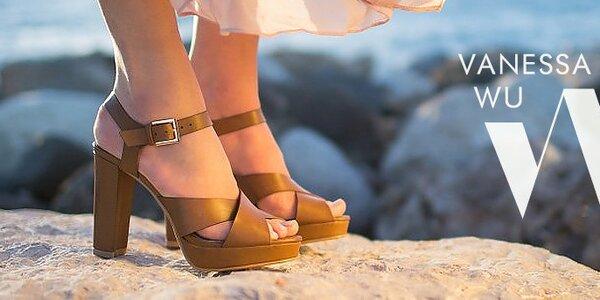 Dámske topánky Vanessa - francúzska letná inšpirácia
