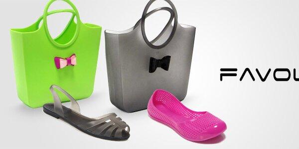 Dámske balerínky, sandále a veselé taštičky Favolla