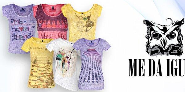 Me Da Igual - príjemné dámske tričká a topy