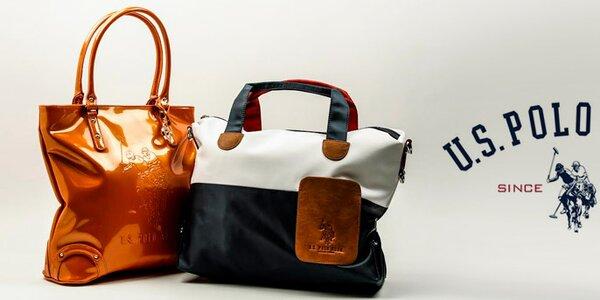 Originálne dámske kabelky U.S. Polo - farebné, klasické aj lakované