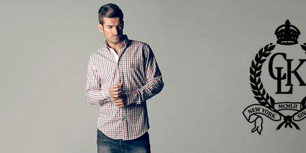 CLK - pánske voľnočasové polo tričká, košele a svetre