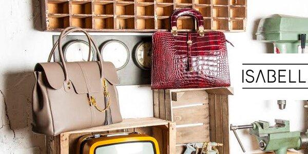 Kvalitné kožené dizajnové kabelky Isabella Rhea