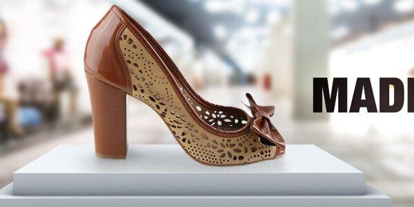 Štýlové jarné sandálky, lodičky a balerínky Made In