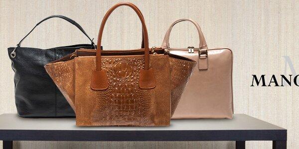 Mangotti - talianske kožené kabelky na každú príležitosť